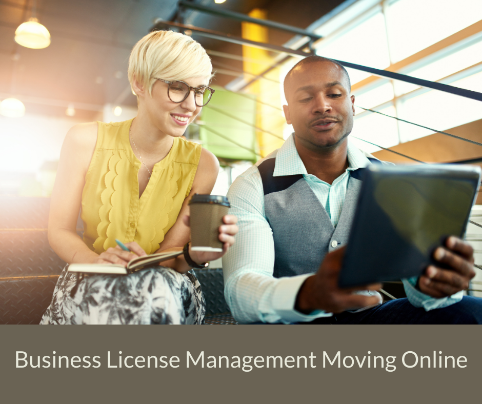 Business License Management Moving Online