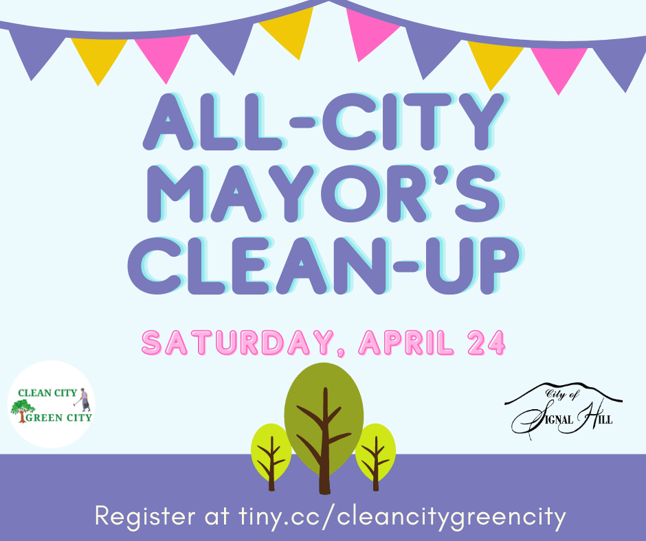 Spring Mayors CleanUp