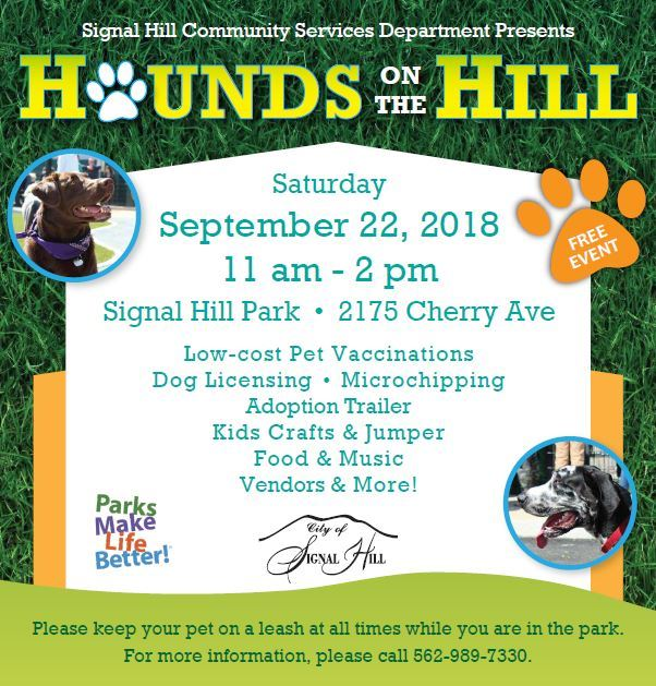 Hounds on the Hill Flyer