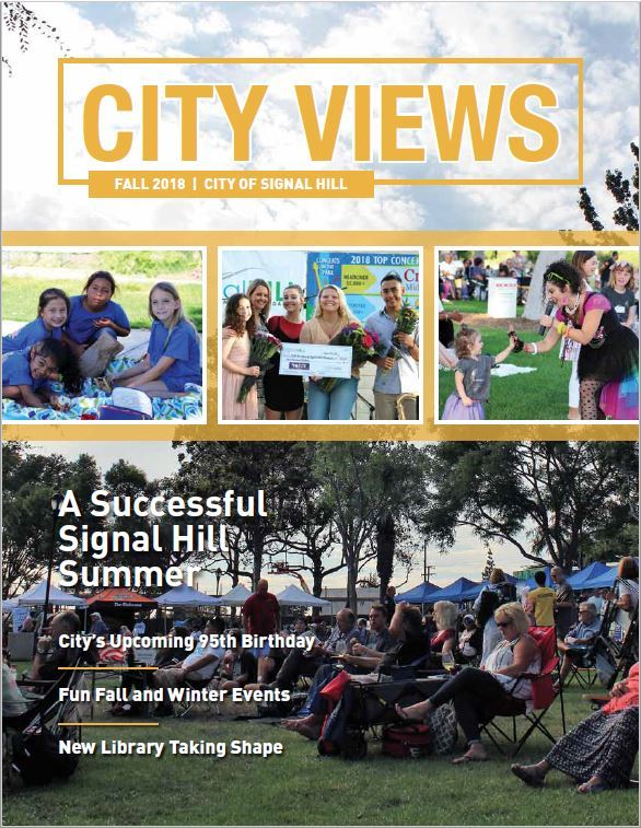 Fall 2018 City Views Cover with Summer Events
