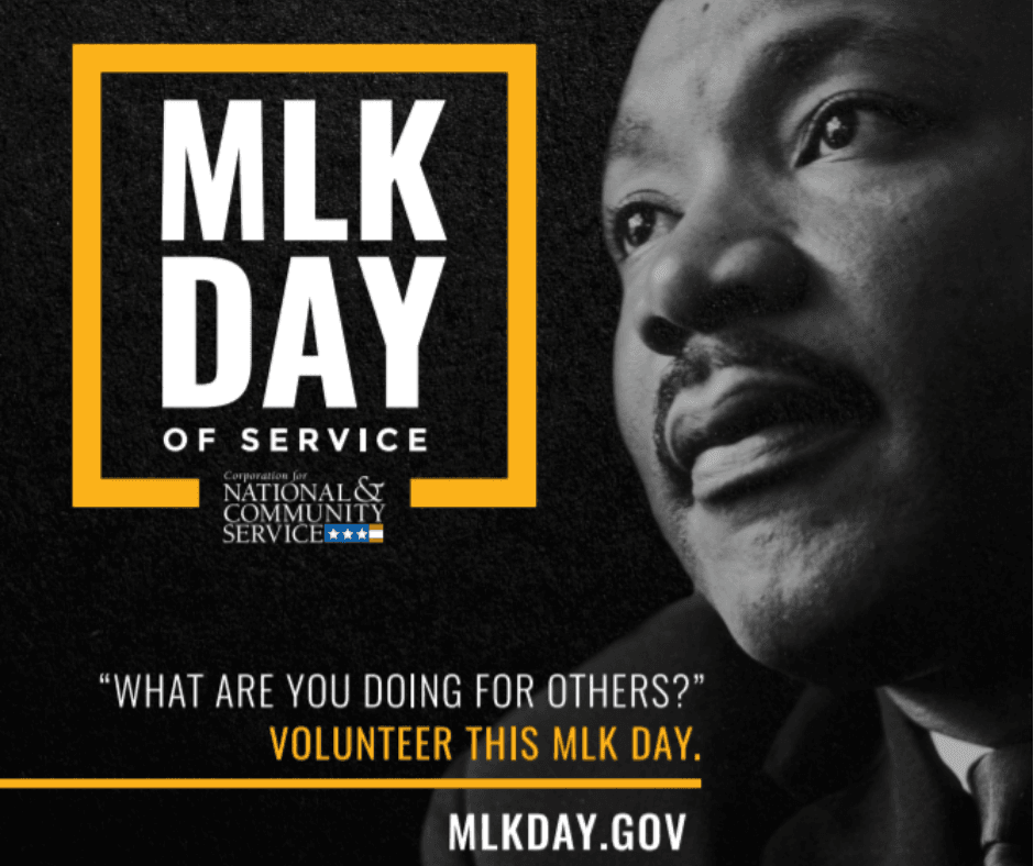 MLK Day of Service mlkday.gov