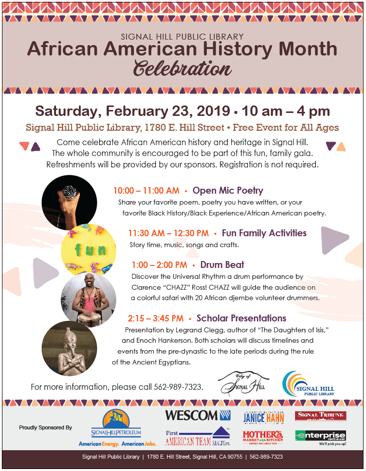 African American History Month Celebration 2019