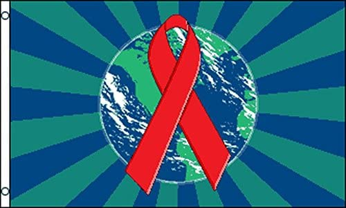 World AIDS Day Flag