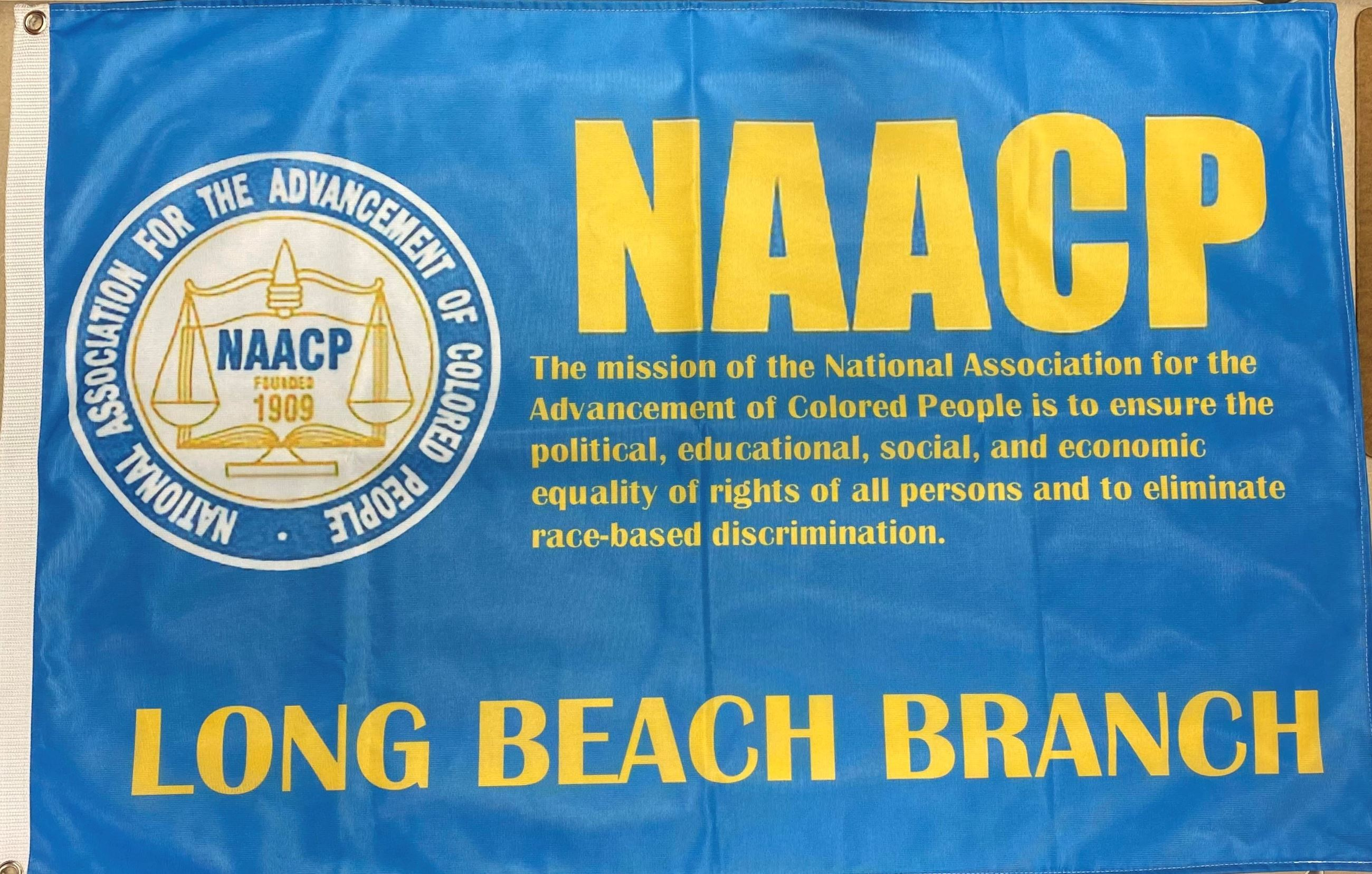 NAACP Long Beach Chapter Flag