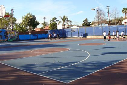 SHP Basketball Court